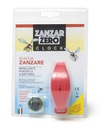 ZANZARZERO® CLOCK  ELECTRONIC REPELLENT PORTABLE MOSQUITO
