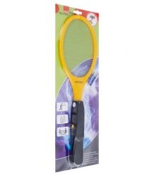Electric flyswatter and insect racket