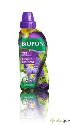 BIOPON GEL FLOREWING PLANT FERTILIZER 0.5L  /  Art.№ BP 1282