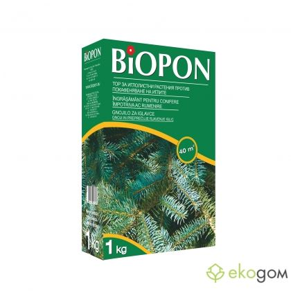 BIOPON conifer fertilizer with needle browning control / Art. No BP 1055