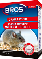 BROS – mouse and rat killer grain 100 g