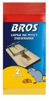 BROS – mouse trap – wooden 2 pcs