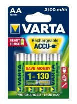 VARTA -HR6 / AA NiMH /2100mAh - 4 pieces